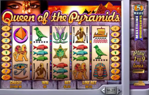 Queen of the Pyramids Jackpot